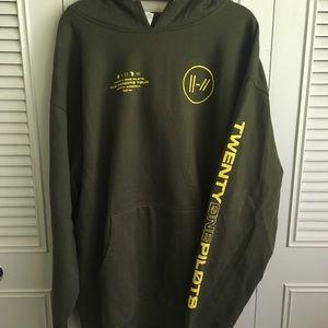 Tops - Twenty one pilots hoodie
